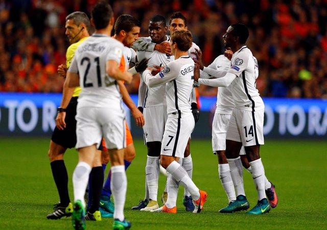 Pogba Francia Holanda