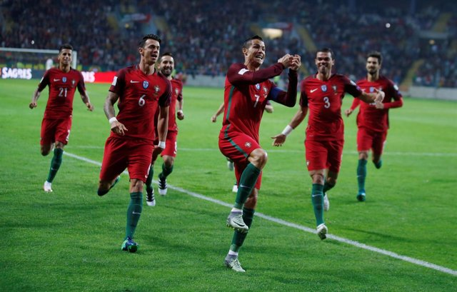 Cristiano Ronaldo Portugal Pepe Joao Cancelo