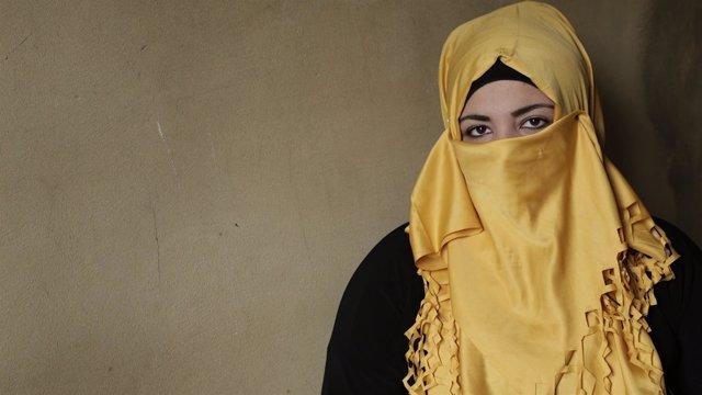 Sahar es siria y se caso a los 13 años. Ahora tiene 14 y está embarazada