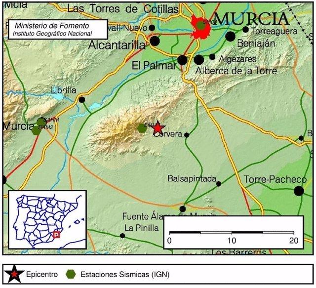 Movimiento sísmico, terremoto