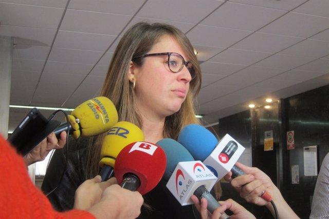 La teniente de alcalde de Ecología, Urbanismo y Movilidad de Barcelona, J.Sanz