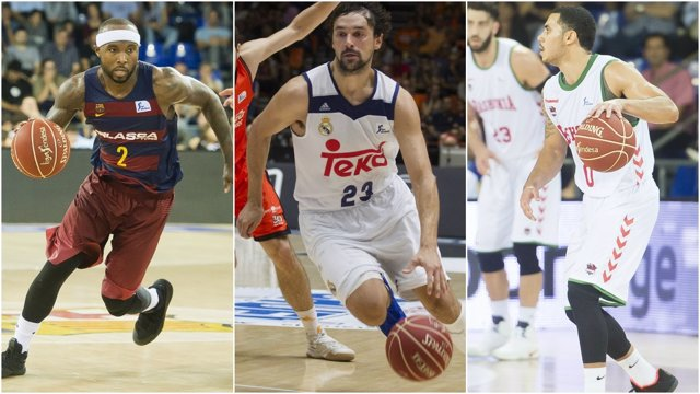 Barcelona, Madrid y Baskonia empiezan la Euroliga