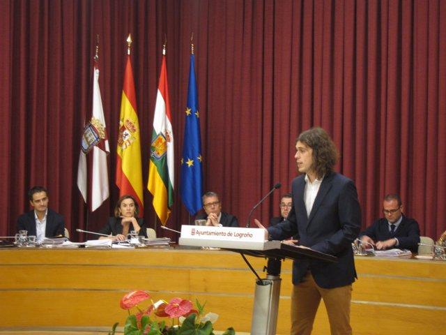 Gonzalo Peña, en su intervención
