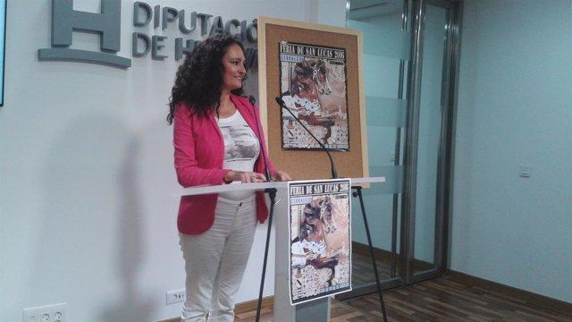 Lourdes Martín, alcaldesa de Gibraleón