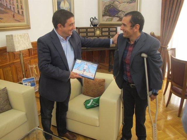 Reyes con Miguel Ángel Martínez  Tajuelo