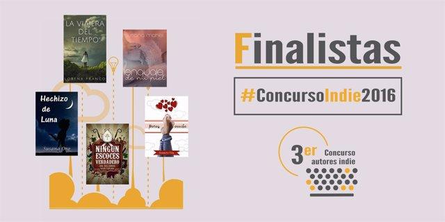 Finalistas del tercer concurso 'indie' de Amazon y El Mundo