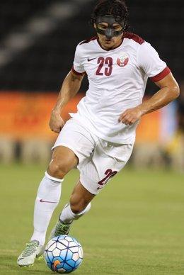 Sebastián Soria, jugador español en Catar