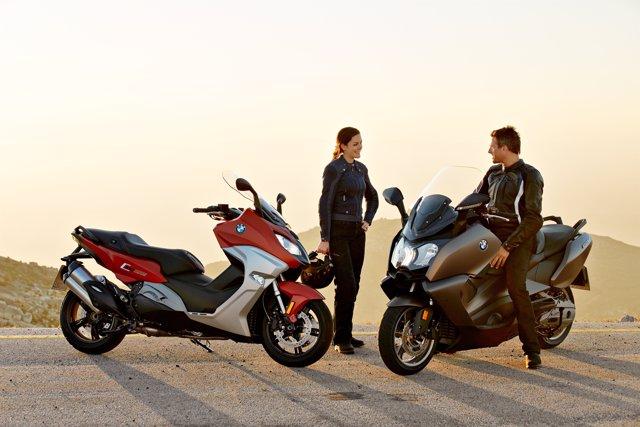 Maxi scooters de BMW