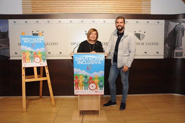 Presentación del programa 'Diputación inclusiva'