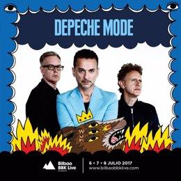 Depeche Mode, cabeza de cartel de Bilbao BBK Live 2017