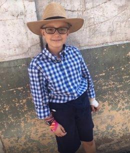 Adrián, el niño valenciano que quiere ser torero