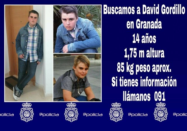 Buscan a un chico de 14 años desaparecido