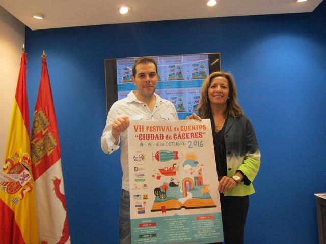 Presentación del VII Festival de Cuentos Ciudad de Cáceres
