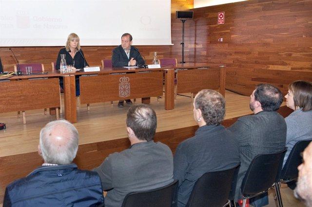 Ana Ollo y Mikel Arregi.