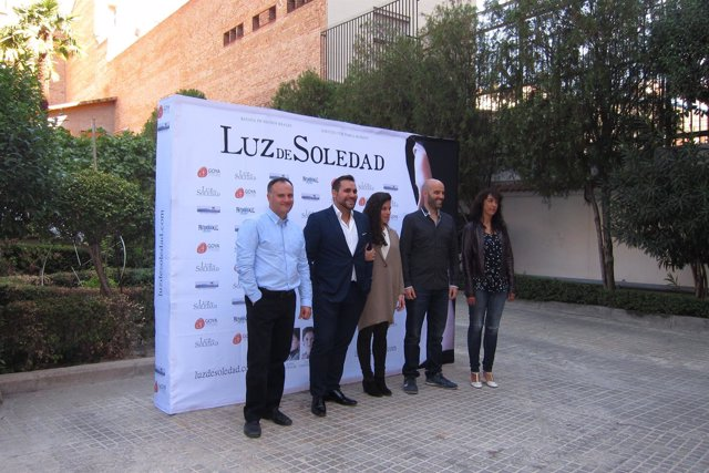 El equipo de 'Luz de Soledad'