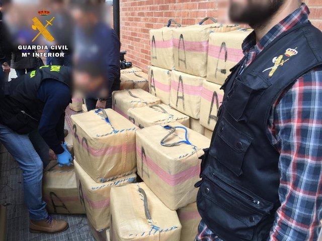 Una operación de droga de la Guardia Civil de La Rioja