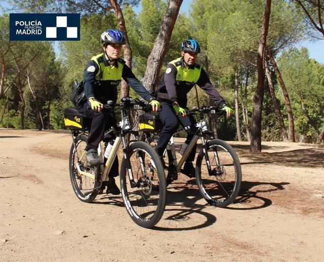 Nota De Prensa Sobre Sección Ciclista De Policía Municipal De Madrid