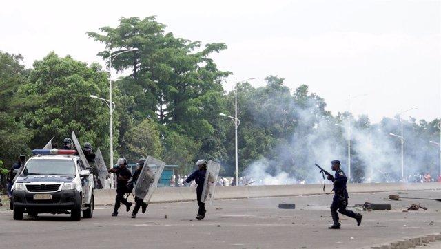 Protestas contra el presiden Joseph Kabila en República Democrática del Congo