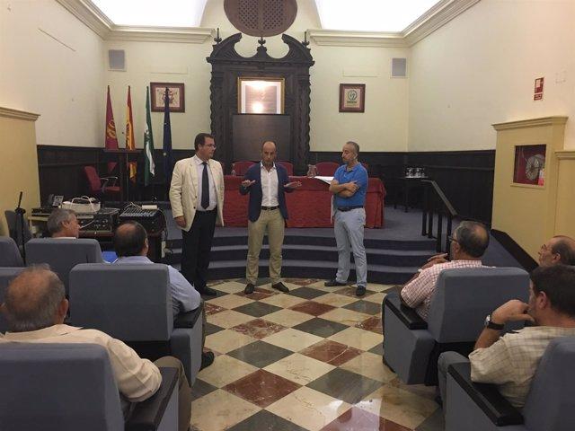 Emasesa inicia obras en la calle Trastamara