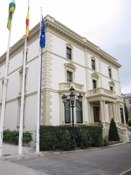 Palacio de Gobierno de La Rioja, conocido como Palacete