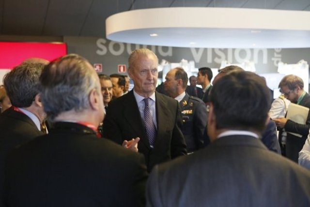 El ministro de Defensa en funciones, Pedro Morenés