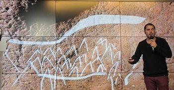 Descubren en Bizkaia un conjunto de grabados de hace 14.000 años de gran...