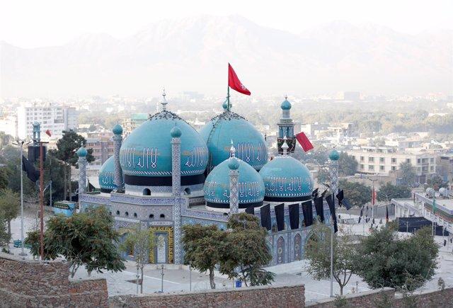 Mausoleo chií de Karte Shaji, atacado el 11 de octubre