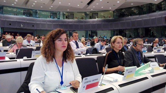 Pilar Costa, en el Comité de las Regiones