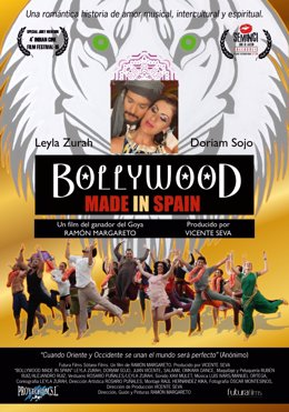 Carteñ de Bollywood Made in Spain.