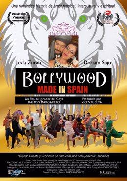Carteñ de Bollywood Made in Spain.