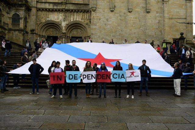 Acto de Galiza Nova en Santiago