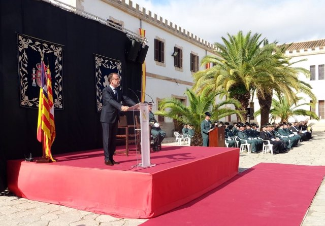 Evelio Antich, en la festividad del Día del Pilar