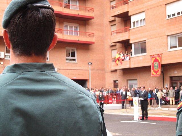 El delegado del Gobierno en su discurso en patrona Guardia Civil
