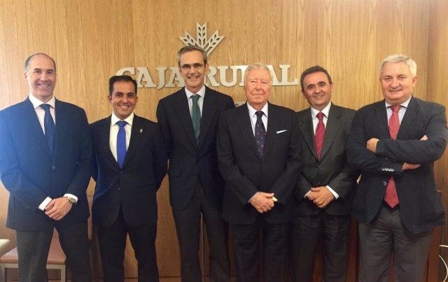 AScuerdo entre Caja Rural y Colegio de Farmacéuticos de Cádiz