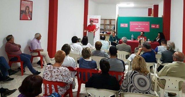 Asamblea local del PSOE en Huelva