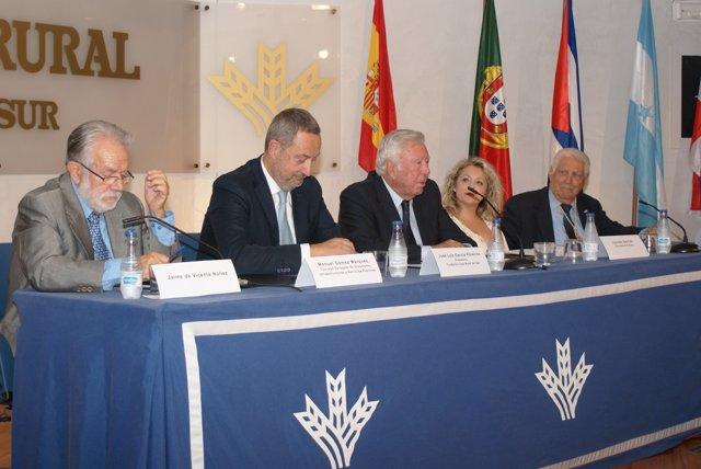 Entrega de premios a la Cooperación Iberoamericana