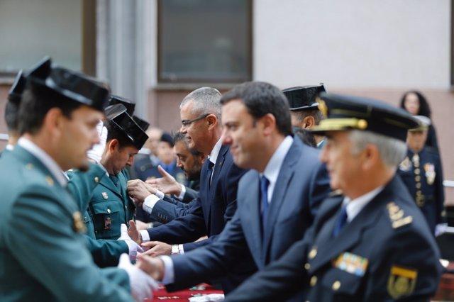 Acto del Pilar en A Coruña