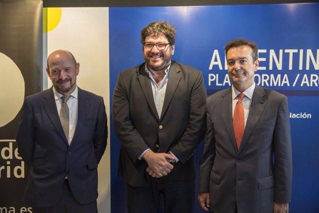 Presentación de la feria ARCO en Argentina