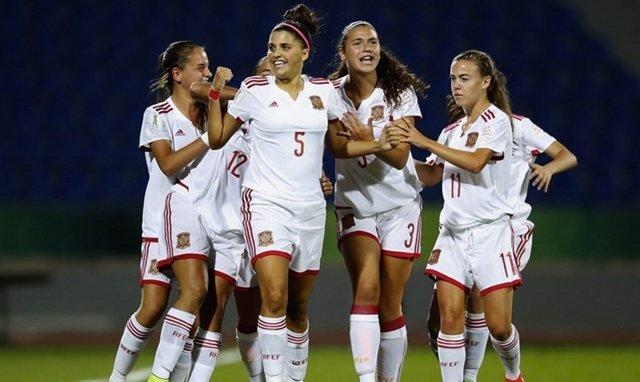 España accede a las semifinales del Mundial femenino Sub-17