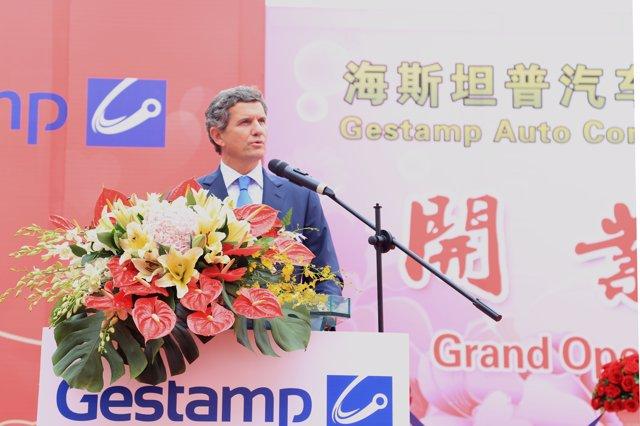 Inauguración de octava planta de Gestamp en China