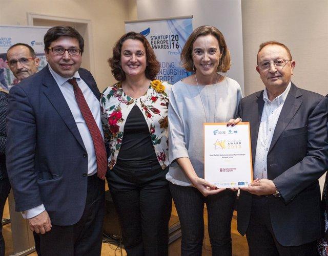 Premio Starup Europe