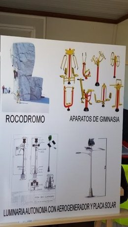 Proyecto de la zona de ocio del puerto de Huelva.