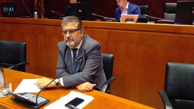 El rector de la UZ, José Antonio Mayoral.