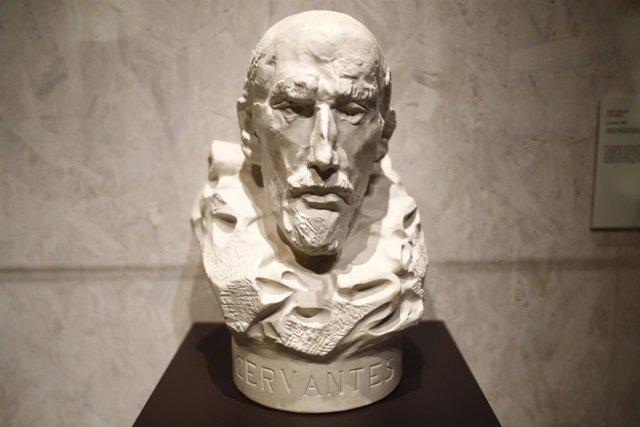 Presentación de la exposición Miguel de Cervantes: de la vida al mito