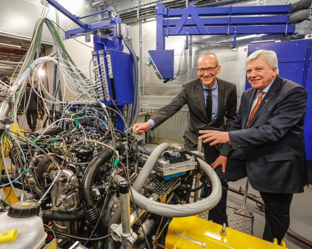 Nuevo laboratorio de Opel en Rüsselsheim (Alemania)