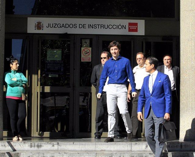 El pequeño Nicolás en los juzgados de Plaza Castilla