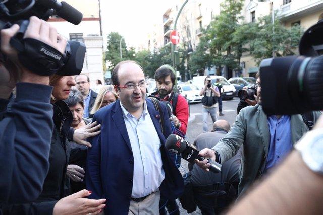 El líder del PSC,Miquel Iceta, en una imagen de archivo.