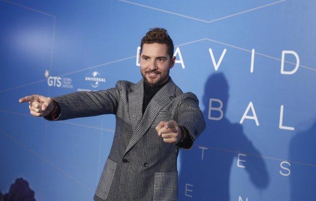 David Bisbal en la presentación del videoclip Antes que no