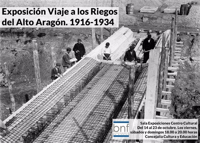 Imagen de la exposición Viaje a los Riegos del Alto Aragón 1916-34