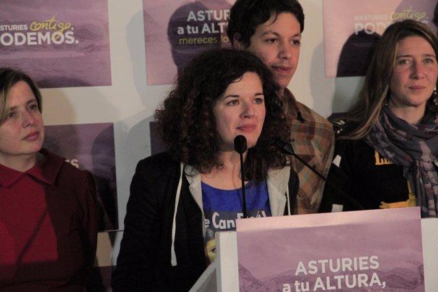 Sofía Castañón, candidata de Podemos